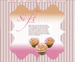 Sift by Kara Website Design